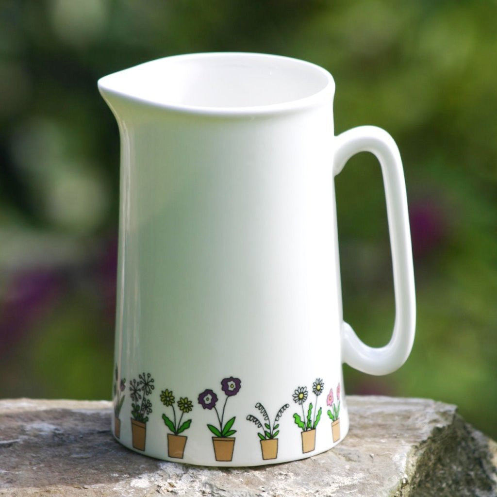 wiggles and florence Flower Pots Jug