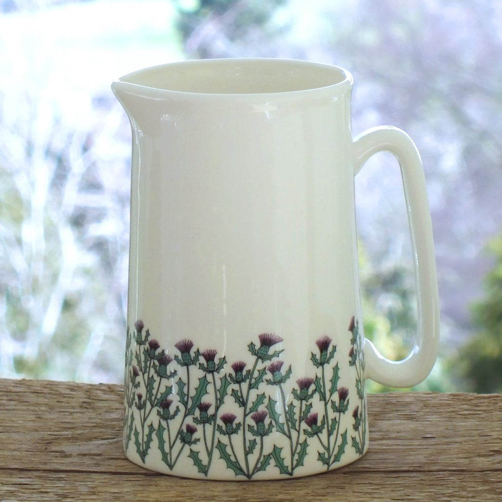 Wiggles and Florence Large Thistles Jug