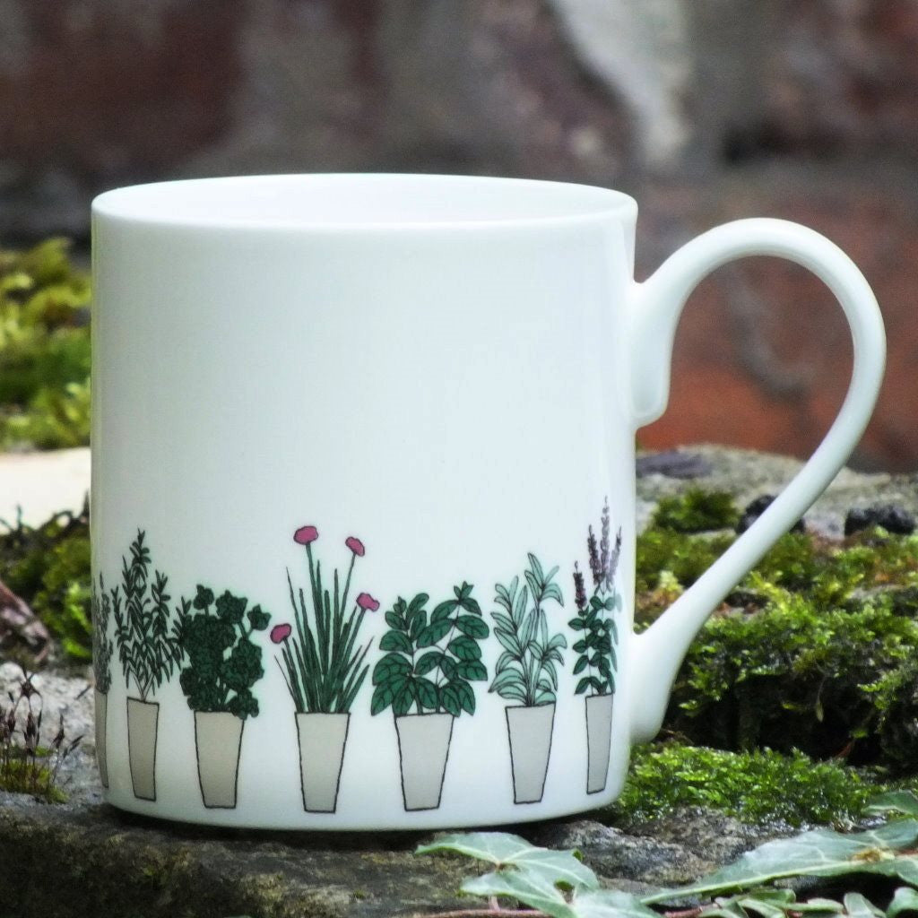 Potted Herbs Mug