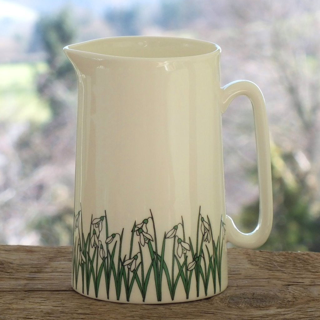 wiggles and florence Large snowdrops jug