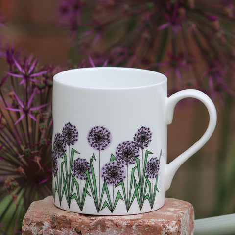 Allium Heads Mug