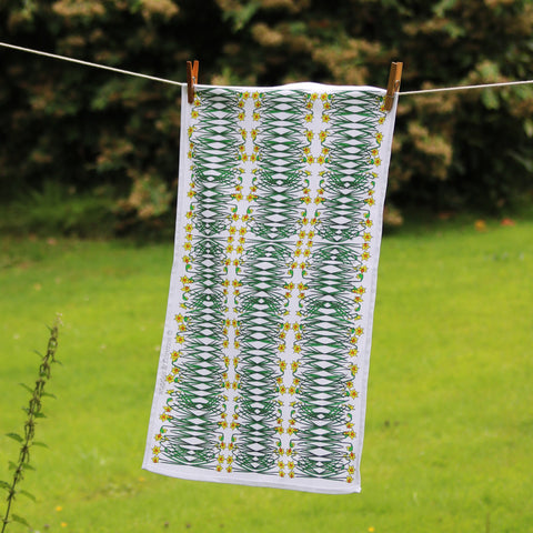 Daffodils Tea Towel