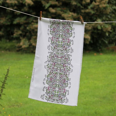 Hedgerow Tea Towel