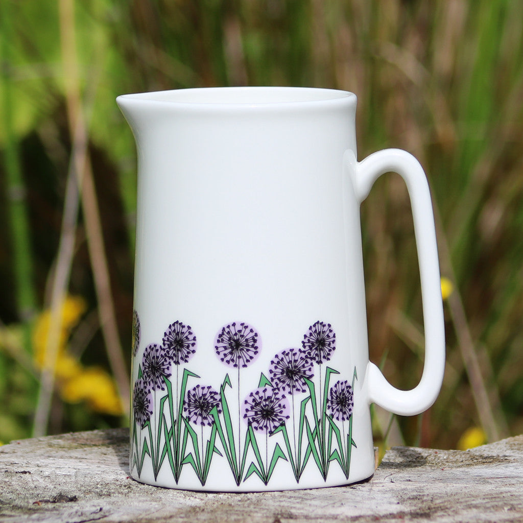 Allium Heads Jug Lge