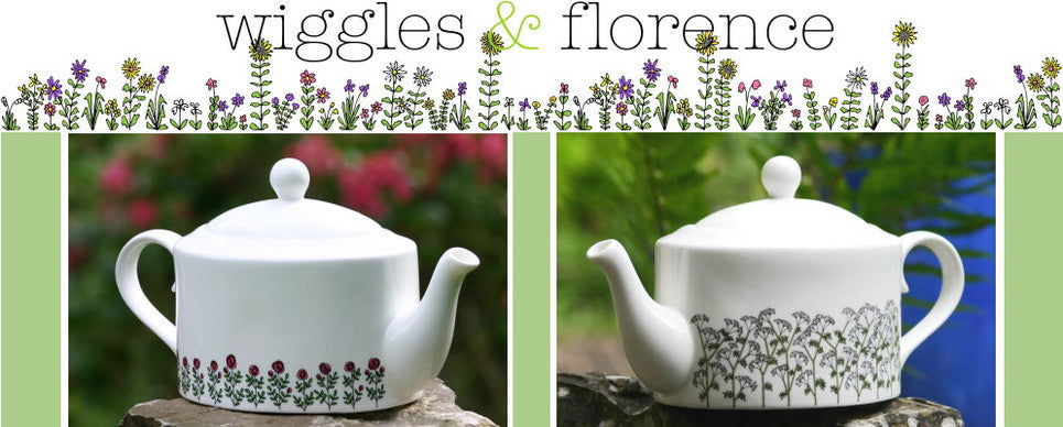 wiggles and florence Tea Pots