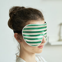 Load image into Gallery viewer, Silk stripe eye mask