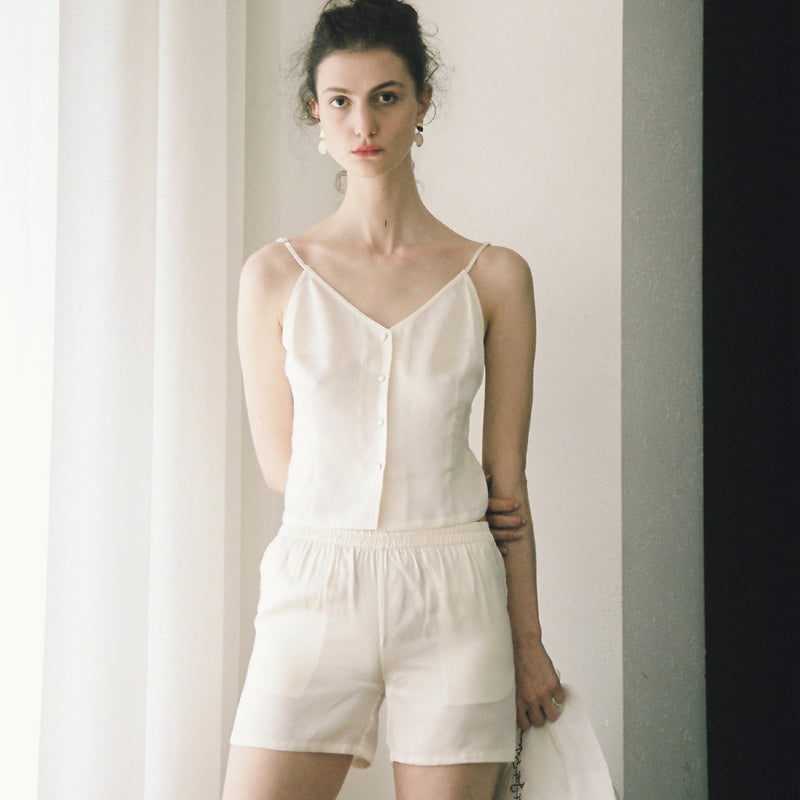 Summer Silk Short Set - Not Just Pajama