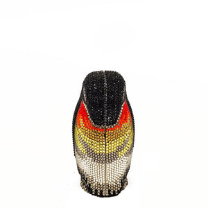 Penguin evening Purse Crystal Rhinestone Seal Miniaudiere Clutch Bag