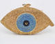 Evil Eye Crystal Metal Frame luxury clutch bag-Handbags & Purses - MILANBLOCKS