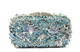Milanblocks Owl Bird Wedding Rhinestone Metallic Clutch-Handbags & Purses - MILANBLOCKS