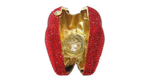 Lips Rhinestone Evening Clutch-Handbags & Purses - MILANBLOCKS