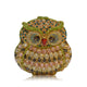 Owl Luxury Crystal Rhinestone Evening Clutch Handbags-Handbags & Purses - MILANBLOCKS