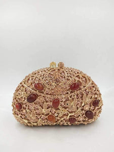 Royal Vintage Rhinestone Evening Clutch-Handbags & Purses - MILANBLOCKS