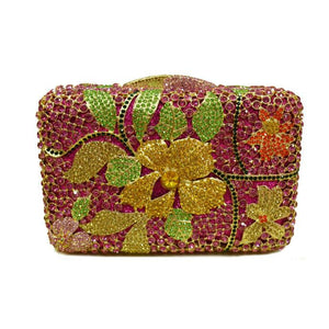 Women Luxury Celebrity Crystal Evening Purse-Handbags & Purses - MILANBLOCKS
