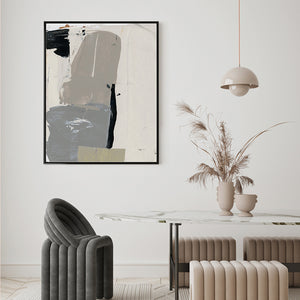 Green leaf vibe art print
