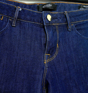 Guess Los Angeles, indigo skinny jeans, superb cut & fit, sz. 10/29, exc. cnd.