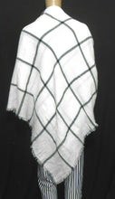 Load image into Gallery viewer, Pierre Balmain white scarf/shawl, soft lambswool, exc. cnd.