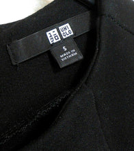 Load image into Gallery viewer, Uniqlo black dress, sz. 10/S - classy chic - for all seasons, v.g. cnd.