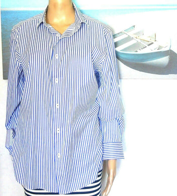 Oxford tailored striped shirt, sz. 12-14