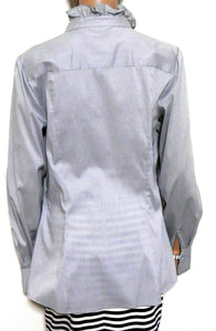 Veronika Maine shirt, smoky grey, sz. 12    NWOT - for all seasons
