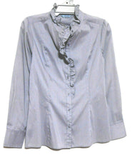 Load image into Gallery viewer, Veronika Maine shirt, smoky grey, sz. 12    NWOT - for all seasons