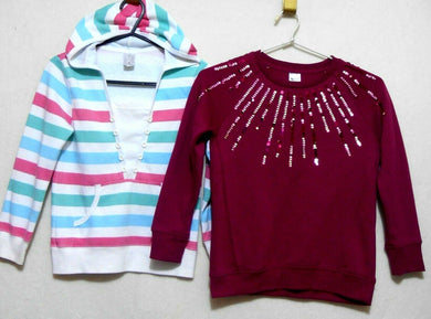 Target and Anko sweat tops for girls, sz. 8