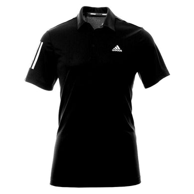 Adidas Golf black 3 stripe tee shirt, sz. L, NWOT