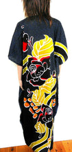 "Load image into Gallery viewer, Kaftan, "" Life Less Ordinary"", spectacular and showy, one size, NWOT, black"