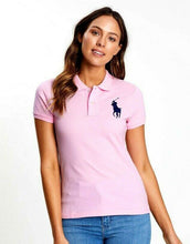 Load image into Gallery viewer, Ralph Lauren candy pink Big Pony Tee shirt, sz. 10, **NWT