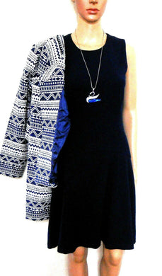 Saba  dress, midnight blue, simple style but very chic, sz. 8 - for all seasons, exc. cnd.