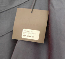 Load image into Gallery viewer, George 2 pc. raw silk skirt suit, dark blue, sz. 12 & 14, ***NWT