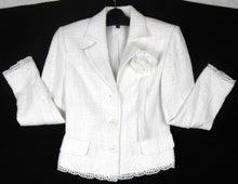 Load image into Gallery viewer, Lovers  white dress jacket, sz. 8-10, ***NWT