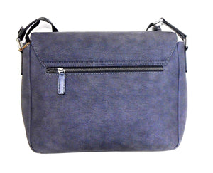 Louis Feraud large cross body bag - classy smart, NWT, dark blue