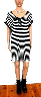 Minkpink striped tunic dress, sz. 14/L