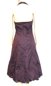 Karen Millen dress, bitter chocolate, mid calf, sz. 10, ***NWOT