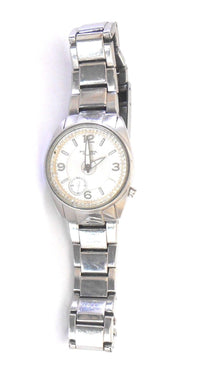 Fossil watch, stainless steel casing and wrist band , sporty style, excl. cnd.