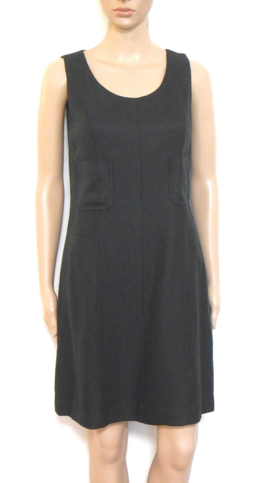 Marilyn Anslem black Hobbs dress, classy smart, sz. 10, for all seasons