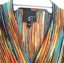 Load image into Gallery viewer, Roberto Cavalli dress, flowing jersey, sz. 12/38 Made in Italy, exc. cnd.