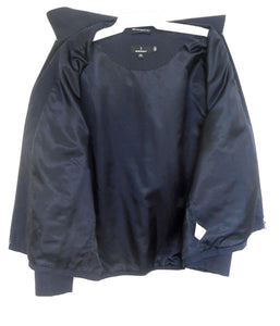 Sportscraft  black windbreaker style zip jacket, sz. 16/L - good for all seasons, near new