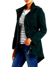 Load image into Gallery viewer, Sportscraft  black windbreaker style zip jacket, sz. 16/L - good for all seasons, near new