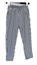 Load image into Gallery viewer, Sass & Bide striped pull on capri pants, sz. 12  - super casual chic