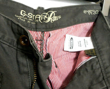 Load image into Gallery viewer, G Star khaki pants, East West R 3301, slim legs, sz. 30 - for all seasons, exc.cnd.