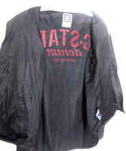 Load image into Gallery viewer, G Star black hood parka, water resistant, sz. 14 - 16/L, exc. cnd.