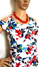 Load image into Gallery viewer, Tequila Sunrise floral pleat dress, sz. 16, ***NWT