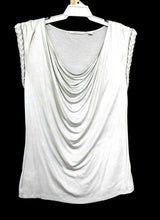 Load image into Gallery viewer, Country Road long line tunic top, silvery grey, sz.16/XL, NWOT