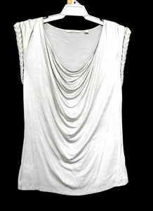 Country Road long line tunic top, silvery grey, sz.16/XL, NWOT
