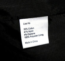 Load image into Gallery viewer, Lisa Ho sporty pencil skirt with pockets, bitter chocolate, sz. 10-12. NWOT
