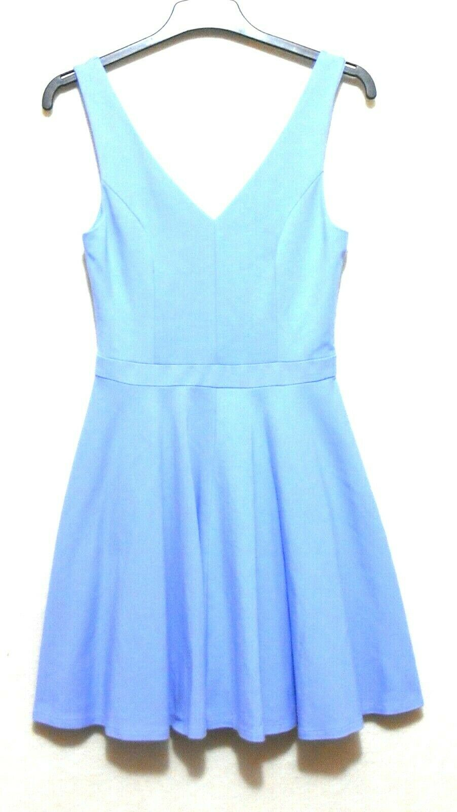Firever New sky blue skater dress, sz. 8, NWOT