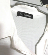 Load image into Gallery viewer, Flavio Castellani white shirt, sz. 14-16/L Made in Italy - cool glamour
