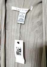 Load image into Gallery viewer, Max Studio beige shrug cardigan, long line, sz. 10-16, ***NWT